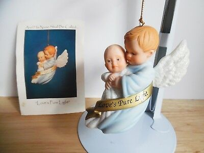 1998 Ashton-Drake Porcelain Ornament And His Name Shall Called Love's Pure Light
