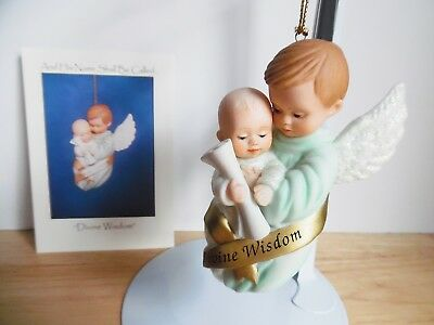 1998 Ashton-Drake Porcelain Ornament And His Name Shall Be Called Divine Wisdom