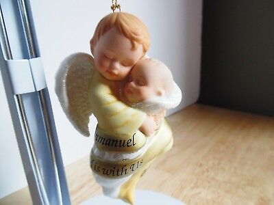 1998 Ashton-Drake Porcelain Ornament His Name Shall Called Emmanuel God is With