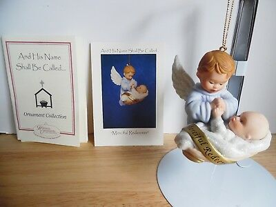 1998 Ashton-Drake Porcelain Ornament And His Name Shall Called Merciful Redeemer