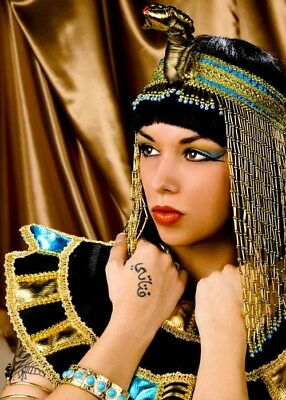 Deluxe Cleopatra Wig and Headpiece