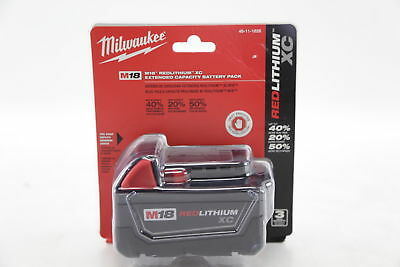 NEW Milwaukee 48-11-1828 M18 Red Lithium XC Extended Capacity Battery Pack