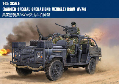 USA (RANGER SPECIAL OPERATIONS VEHICLE) RSOV W/MG 1/35 fav Trumpeter model kit
