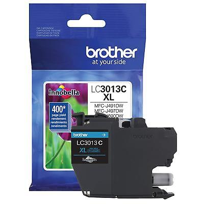 Brother High-Yield Ink Cartridge, For Brother Work Smart Series Printers, Cyan