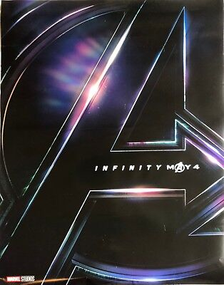 "Avengers Infinity War - Movie Poster 27"" by 40"" - Used - Good Condition"
