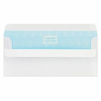 "Columbian® Self-Seal® Security Envelopes, #10, 4 1/8"" x 9 1/2"", White, Box Of"