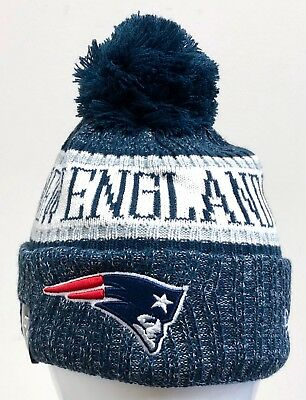 b309bfb6f3eaf low price new era mens nfl 2018 on field sport knit beanie new england  patriots 5462b