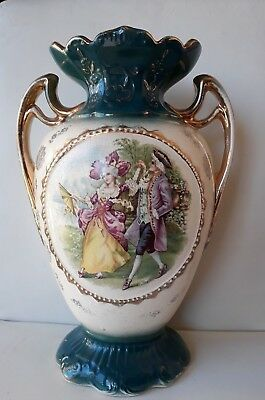 Antique WA&L Victorian Large Vase -Authentic -Made in England -Perfect Condition