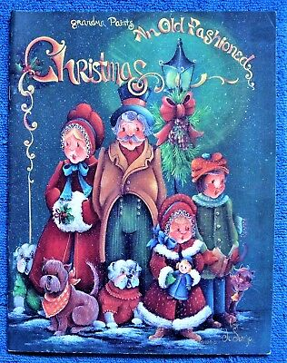 old fashioned christmas painting pattern book jo sonja jansen folk art unused