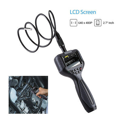 2.7″ LCD Borescope Inspection Camera 5.5mm 1M Cable IP67 Scope for Mechanical