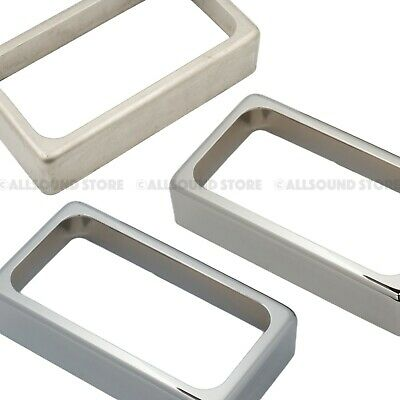 NEW - Open Humbucker Guitar Pickup Cover, Nickel Silver CHROME or NICKEL Plated