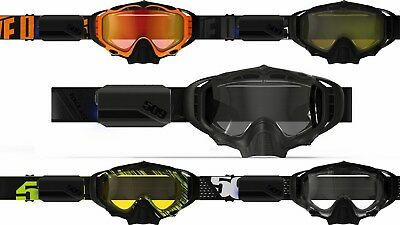 New 2019 509 Sinister X5 Ignite Heated Lens Snowmobile Goggle All Colors No Fog!