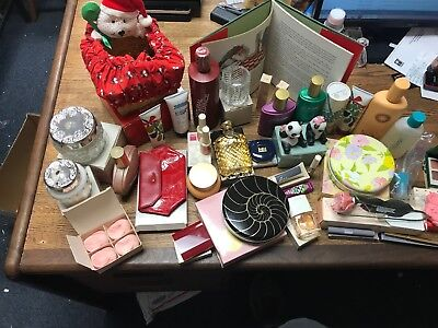 Huge Lot of Vintage 1980's AVON Products 37pc