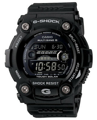 Casio GW7900B-1A Men's Black Rescue Multi Band Atomic Solar G Shock Watch