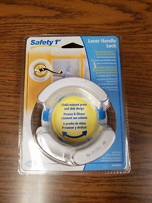Safety 1st French Door Lever Handle Lock Baby Proof Child Lock - 48400A