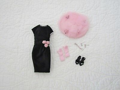 "Tonner 10"" Tiny Kitty GARDEN CLUB LUNCHEON Outfit Dress Hat Jewelry Shoes"