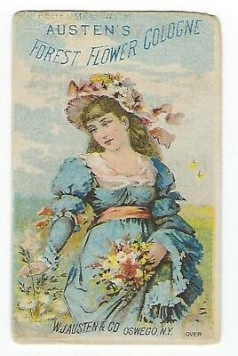 Austen's Swageh Or Oswego Bitters late 1800's perfume trade card