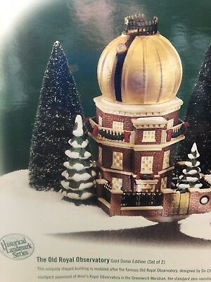 Department 56 Dickens Village The Old Royal Observatory Gold Dome!