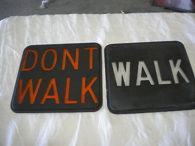 """Pedestrian Signal Glass 9""""  Rounded Corners"""