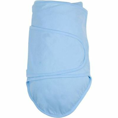 Newborn Baby Wrap.  Cotton Swaddle Blankets. Miracle Blanket - Blue