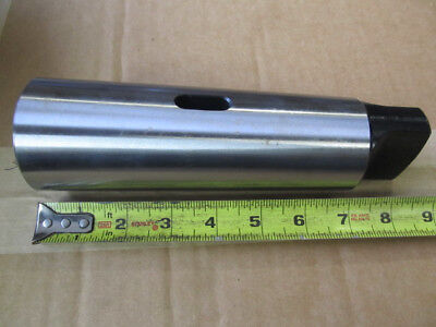Röhm 17029 Type 262 Precision Version Reducing Sleeve with External Morse Taper