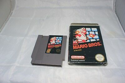 Super Mario Bros PAL/European Game and Box Only Will Not Work on NA NES