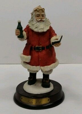 Duncan Royale Soda Pop Santa. Green Bottle.  1983 Collector's Edition.