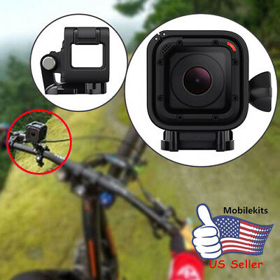 US Portable Low Profile Frame Housing Cover Case Mount for GoPro Hero4 5 Session