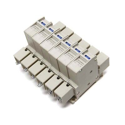 Lot of 6 Mitsubishi Electric CP30-BA Circuit Protector 1-Pole Breakers 7A