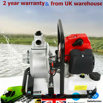 43CC 1.7HP 2-Stroke Petrol Water Drainage Pump Warton Water Transfer Pump NEW