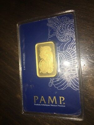 PAMP SUISSE Lady Fortuna 999.9 20g Fine Gold Bullion Bar