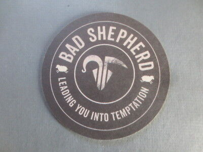 "1 only BAD SHEPHERD  Micro  BREWERY,Victoria Issue BEER COASTERS  "" NEW """