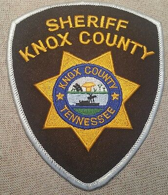 TN Knox County Tennessee Sheriff Patch