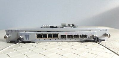 Spirent Testcenter EDM-2001B 10/100/1000 Dual Media Module With ACC-2090B,Tested