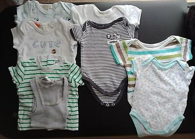 Newborn baby boy summer cotton bundle