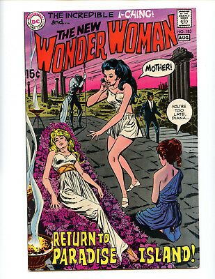 Wonder Woman 183 solid VG copy