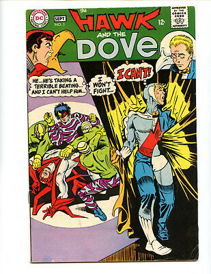 Hawk and the Dove 1  New tv show! Solid copy, cheap