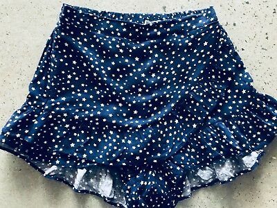 Seed Teen Girl Navy with White Stars Skort, Size: 10, Brand New