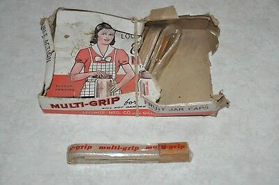 Vintage Antique LECONTE Fruit Jar Opener Lid Remover Tool Kitchenware NOS