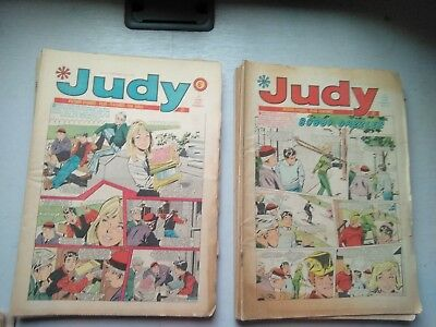 JUDY COMICS 17 ISSUES  AND 5 MANDY  COMICS  1970,s