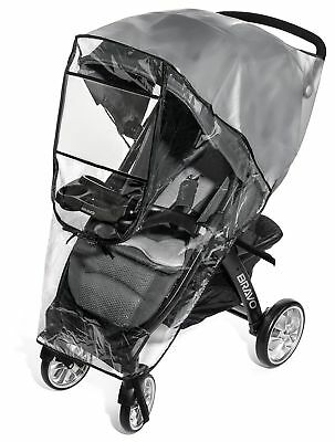 Premium Stroller Cover Weather Shield Easy In/Out Zipper Universal Size Water...