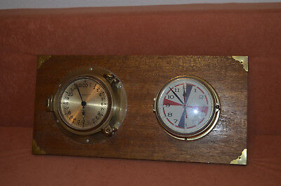 24 Stundenuhr Chelsea Clock & Co U.S. Maritime Commission Schiffsuhren Quartz