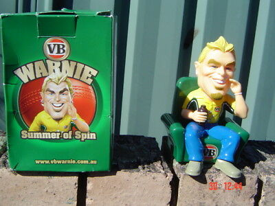 VB Plastic Warnie 2008 Issue Doll in Box Unused as New only opened to Photograph