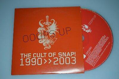 The cult of Snap - Ooops Up. CD-Single Promo