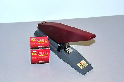 Rexel Giant Full Strip Stapler Heavy Duty and box of staples - 100 pages thickn