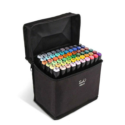 Markers 30 40 Color Art Drawing Twin Tips New Copic Style alcohol marker pen HGU
