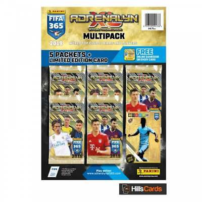 Adrenalyn XL Fifa 365 2019 Multipack - Panini Football Cards Inc Limited Edition