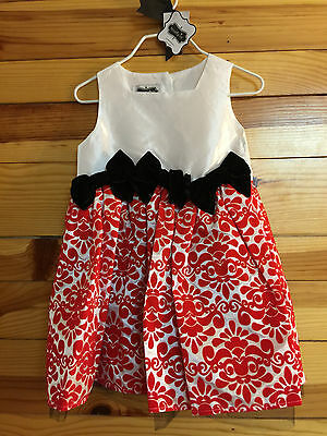 0ae9895ca MUD PIE RED Chiffon Rosette Tulle Party Dress Gorgeous! NWT Girls 2T ...