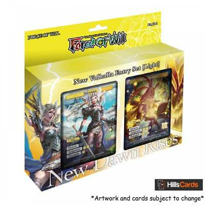 Force of Will TCG: New Valhalla Starter Entry Set - New Dawn Rises - Light Deck