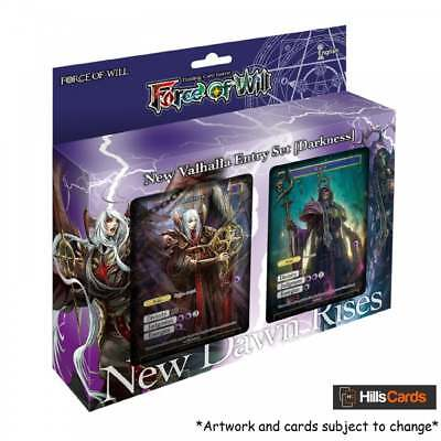 Force of Will TCG New Valhalla Starter Entry Set - New Dawn Rises Darkness Deck